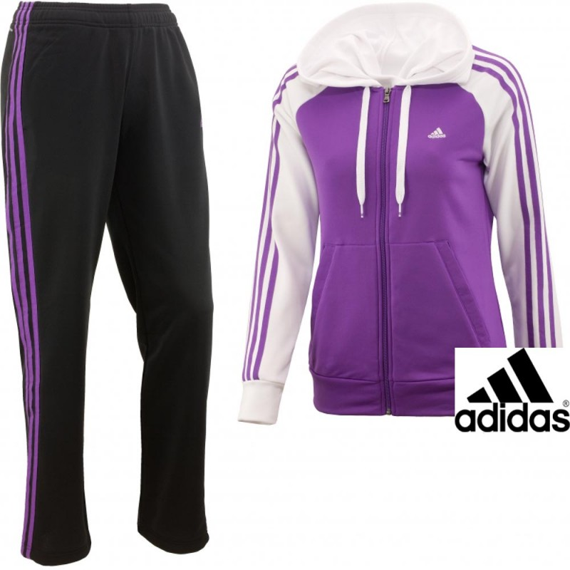 c61919a76728 ADIDAS TUTA DONNA YOUNG KNIT SUIT